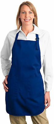 Personalized Custom Embroidered Picture Full-Length Apron with Pockets.  A500