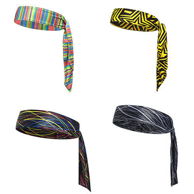 Quick Dry Head Tie Headband Sweatband for Sports, Tennis, Basketball, Soccer