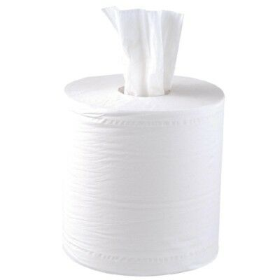 White Roll Centrefeed Industrial Roll 150m 2Ply White (Qty 18) Commercial Grade