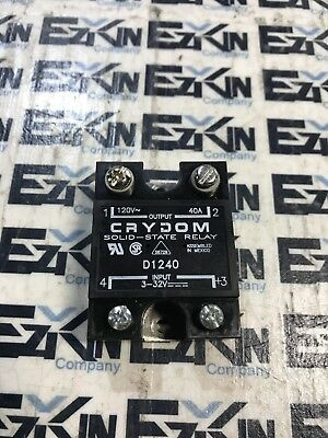 Crydom D1240 Solid State Relay 120Vac 40A