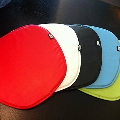 Eames Chair PU Leather Seat Pad Cushions x 2