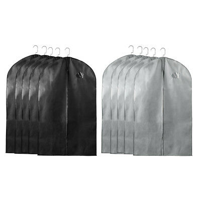 be683e008b67 BREATHABLE GARMENT BAG Suit Bag for Storage and Travel 40'' Dress ...