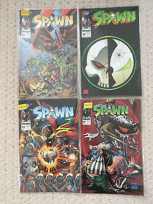Spawn bundle near mint Image comics #11 - #18, #29, #32