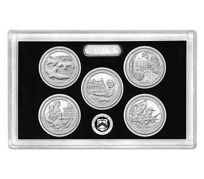 2017-S Silver Proof Washington Quarter Set-No Box & COA