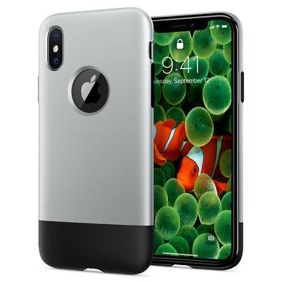Apple iPhone X, 8, 8 Plus Spigen® [Classic One] 10th Anniversary Limited Case
