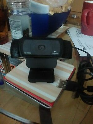 Logitech HD Pro Webcam C920 - web camera
