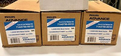 *NEW* PHILIPS Core & Coil Multi-volt Ballast Kit for 250W M58 MH #71A5750-001D