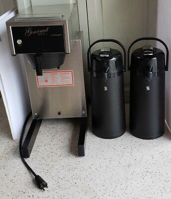 Bloomfield Gourmet 1000 Airpot Brewer 8785 With 2