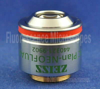 Zeiss EC Plan-Neofluar 5x / 0.16 Ph1, Infinity /0.17 Phase Microscope Objective.