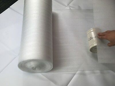 Packaging Foam Roll - 500mm x 15m Roll - Great For Gift Wrapping / Fragile Glass