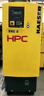 HPC / Kaeser SXC8 Rotary Screw Compressor With Dryer & Air Receiver Only 302Hrs!