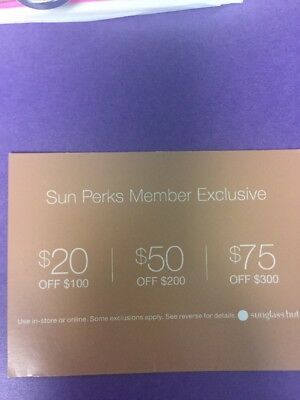 9ac02764ba1 SUNGLASS HUT COUPON -  20  50  75 Off Purchase Online   In-Store -  4.50