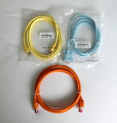 Cisco Original Konsolenkabel Set Sub-D - RJ45 72-3383-01 + LAN 72-1482