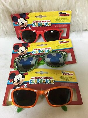 Disney Junior Mickey Mouse Clubhouse Boys Kids Sunglasses 100% Protection