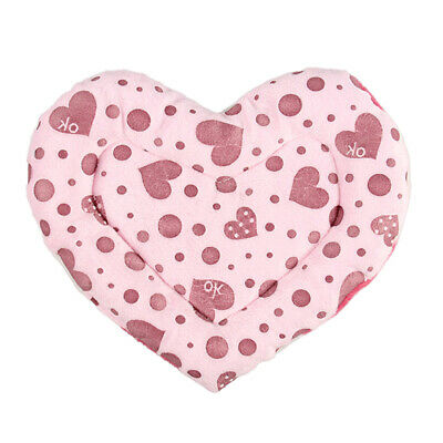 Heart Decor Hamster Mat Warm Cage Pad Sleep Bed for Small Animal Guinea Pig Rat