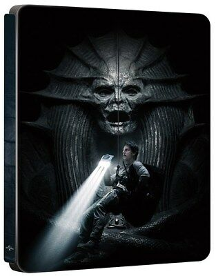 The Mummy 2017 3D (4000 ONLY HMV Exclusive Limited Ed Blu-ray Steelbook) [UK]