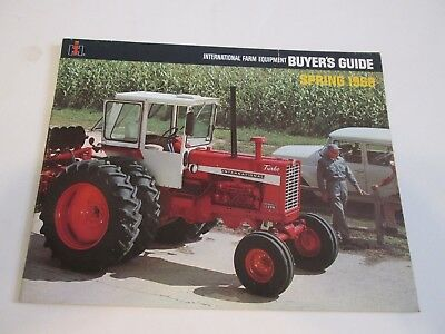International Harvester Spring 1968 Buyer's Guide Dealer's Brochure