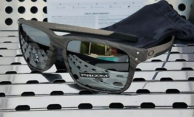 7b148b4088 New Oakley HOLBROOK MIX 9384-0457 Sunglasses Woodgrain w  Prizm Black  Iridium.