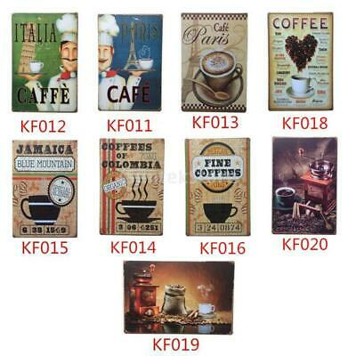Metal Tin Sign Plaque Art Poster Home Cafe Bar Pub Wall Hanging Decoration Retro