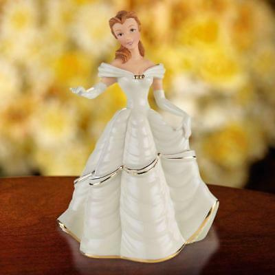 LENOX ~Disney Beauty and the Beast Belle My Heart is Yours Figurine NIB COA