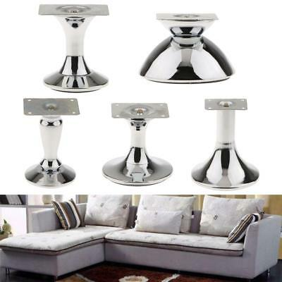 Iron Plated Iron Plinth Leg Feet for Sofa Bed Cupboard Cabinet Kitchen Furniture
