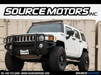 H3 Luxury SUV 2007 Hummer H3 Luxury, Rockstar Wheels, Brush Guard, Side Steps, Leather, LED's
