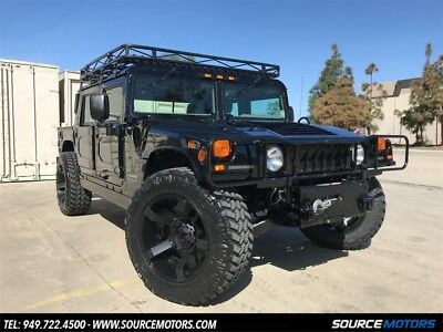 H1 4 Man Hard Top HMC4 2000 Hummer H1 4 Man Hard Top HMC4, Rockstar Wheels, 4X4, Turbo Diesel