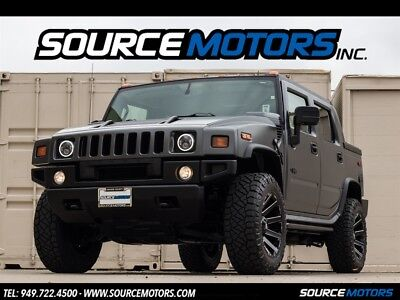 "2008 Hummer H2 SUT 2008 Hummer H2 SUT, Luxury, Sedona Interior, Matte Grey, 20"" Wheels, Navigation"