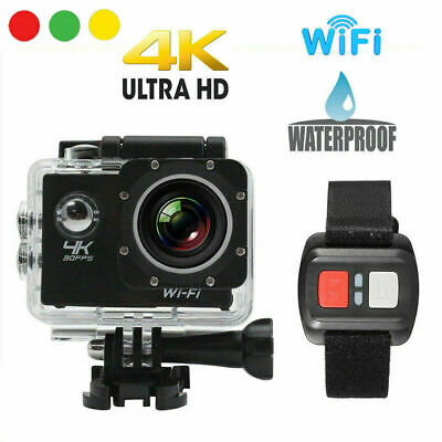 Pro Cam 4K SPORT WIFI ACTION CAMERA ULTRA HD VIDEOCAMERA SUBACQUEA GOPRO 16MP ..