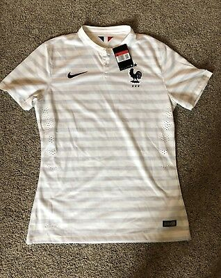 5c79c8528 BNWT 2014 World Cup France Nike Authentic Away Kit Shirt Jersey Les Bleus