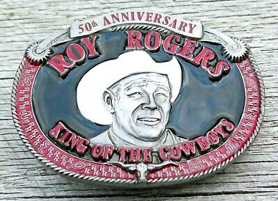 Roy Rogers King Of The Cowboys 1990's Vintage Belt Buckle