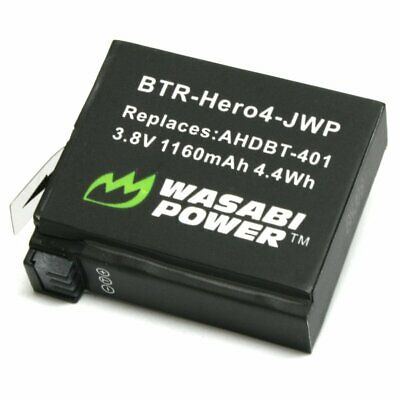 Wasabi Power HERO4 Battery for GoPro AHDBT-401