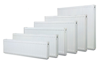 Hydronic Heating Radiator Panels incl brackets - various sizes