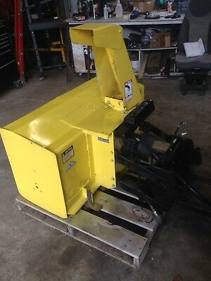 """John Deere 430 two Stage big 48"""" Snow Blower for 430 w frame extension will ship"""