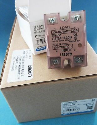 OMRON Solid State Relay G3NA-420B 100-240VAC