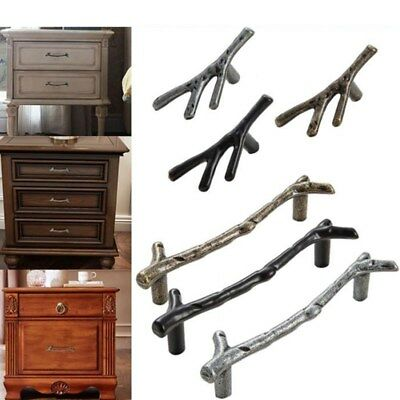 Tree Branch Kitchen Cabinet Lockers Closet Drawer Handles Cupboard Dresser Knob