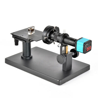 Horizontal Industrial Microscope Camera Stand with Scale Plate X-Y Stage Reticle