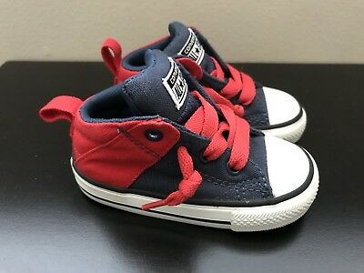 f64377ae27ff68 Converse All Star Chuck Taylor Toddler Boys Slip On Shoes Size 5 NO TIME TO  LACE