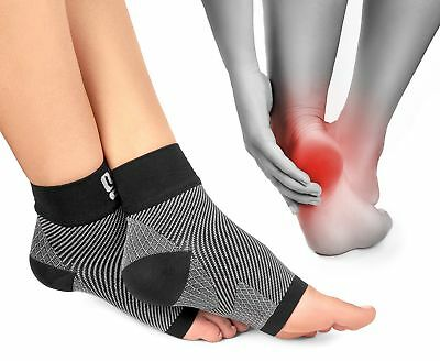 Plantar Fasciitis Socks Foot Care Compression Sock Sleeve with Arch & Ankle S...