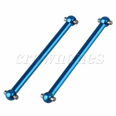 2pcs Alloy A580027 Universal Drive Joint For WLtoys RC1:18 Scale Car Blue Hot