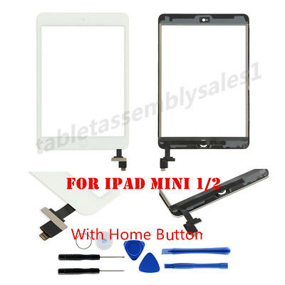 Touch Screen Digitizer Replacement &Screen Protector For Apple iPad Mini 1 2 USA