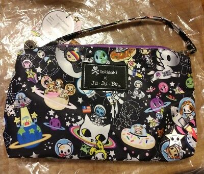 Ju-Ju-Be Jujube x Tokidoki, Be Quick Wristlet, Space Place, NWT