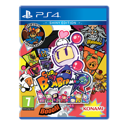 Super Bomberman R Shiny Edition PlayStation 4 PS4 GAME BRAND NEW