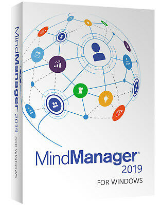 Mindjet Mindmanager 2019 Official Site Full Software + License - 3 PCs Windows