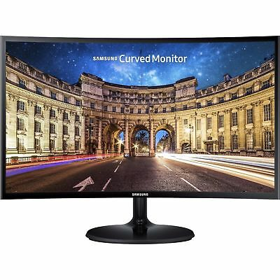 "Samsung C24F390FHE 24"" Curved Gaming Monitor 4MS FHD 1080P HDMI VGA FreeSync VA"
