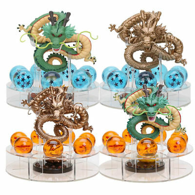 JP Anime Cartoon Cristal Dragon Ball Z Estrellas&Dragón Shenlong&Estante
