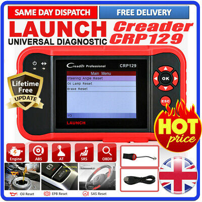 Launch X431 CRP129 Car Diagnostic Service Tool OBD2 Scanner SRS ABS Code Reader