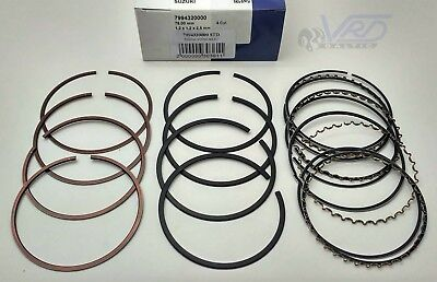 4 Cyl. Piston Rings Set Std For Suzuki Swift Aerio 1.3 1.5 M13A A15A 04-