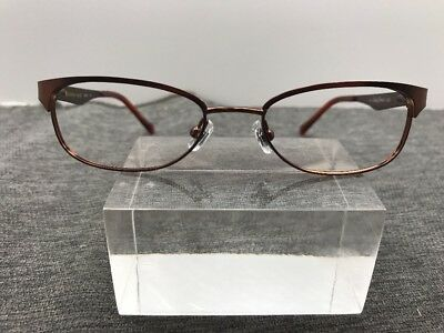 903c9ef0ff25 Lucky Brand Eyeglasses Authentic Lizzie Brown Flex 48-17-130 9279