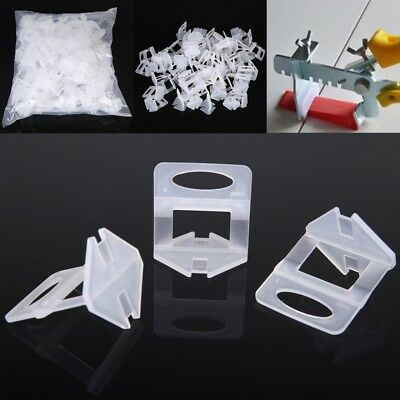 200pcs 1mm Tile Leveling System Clip Kit Wall Floor Tile Spacer Tiling Tool New